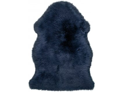 Obsession koberce Kusový koberec Premium Sheep 100 Indigo - 55x85 tvar kožešiny cm