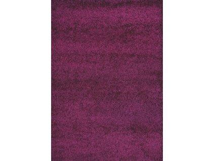 Medipa (Merinos) koberce Kusový Koberec Shaggy Plus Purple 957 - 60x115 cm