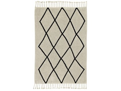 Lorena Canals koberce Ručně tkaný kusový koberec Bereber Beige - 140x200 cm