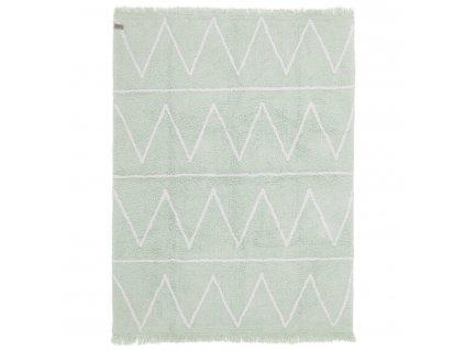 Lorena Canals koberce Ručně tkaný kusový koberec Hippy Mint - 120x160 cm