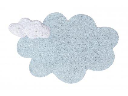 Lorena Canals koberce Ručně tkaný kusový koberec Puffy Dream - 110x170 mrak cm