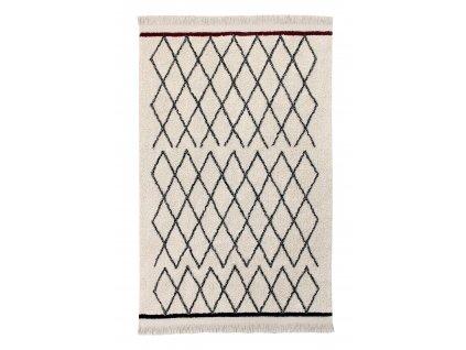 Lorena Canals koberce Ručně tkaný kusový koberec Bereber Crisscross - 120x170 cm