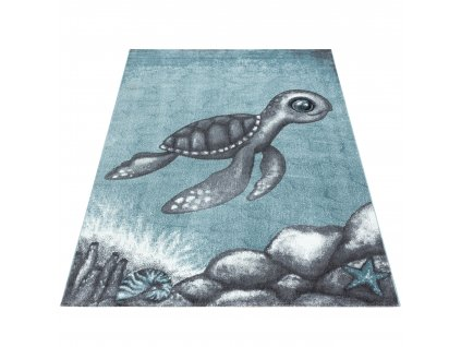 Ayyildiz koberce Kusový koberec Bambi 860 blue - 80x150 cm