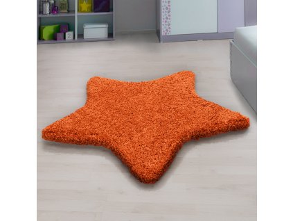 Ayyildiz koberce Kusový koberec Star 1300 orange - 160x160 hvězda cm