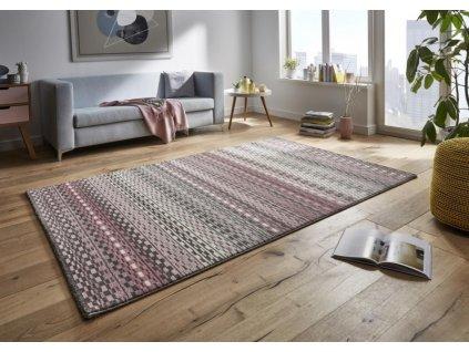 Mint Rugs - Hanse Home koberce AKCE: 80x150 cm Kusový koberec Tifany 102773 Shiver Rosa Pink - 80x150 cm