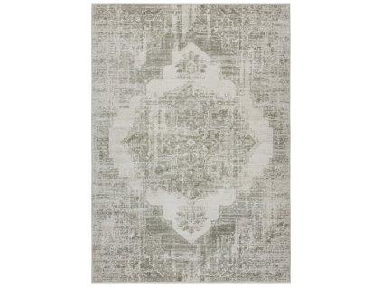 ELLE Decor koberce Kusový koberec Botanical 103898 Cream/Green z kolekce Elle - 80x150 cm