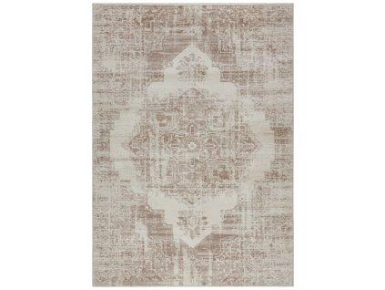 ELLE Decor koberce Kusový koberec Botanical 103897 Cream/Copperbrown z kolekce Elle - 80x150 cm
