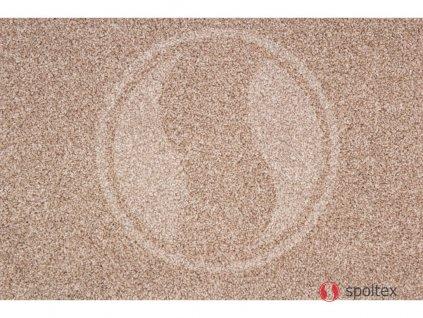 Metrážový koberec Paula / 71 krémová - Rozměr na míru bez obšití cm