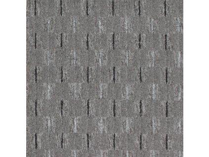 Betap koberce Metrážový koberec Eris 73 šedá - Rozměr na míru bez obšití cm