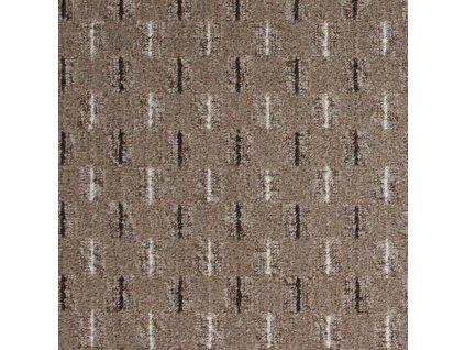 Betap koberce Metrážový koberec Eris 94 hnědá - Rozměr na míru bez obšití cm