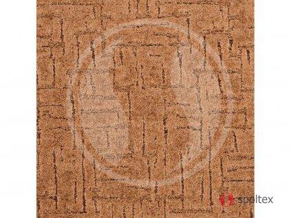 Spoltex koberce Liberec Metrážový koberec Sprint 65 pískový - Rozměr na míru bez obšití cm