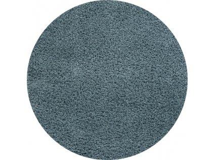 Obsession koberce Kusový koberec Candy 170 blue kruh - 67x67 (průměr) kruh cm