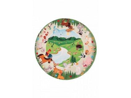 Obsession koberce Dětský kusový koberec Juno 476 Mountains kruh - 80x80 (průměr) kruh cm