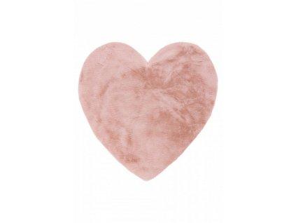 Obsession koberce Pro zvířata: kusový koberec Luna 859 powder pink - 86x86 cm