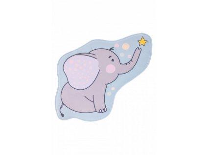 Obsession koberce Dětský kusový koberec Mila kids 151 elephant - 100x100 cm