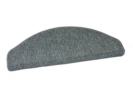 Nášlapy na schody Rambo 73 šedý půlkruh - 28x65 půlkruh (rozměr včetně ohybu)