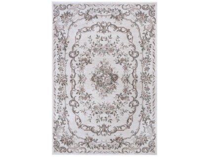 Nouristan - Hanse Home koberce Kusový koberec Provence 104629 Cream/Rose - 80x150 cm