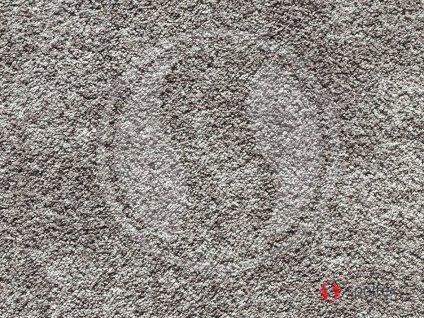 Spoltex koberce Liberec Metrážový koberec Opal 97 Šedý - Rozměr na míru bez obšití cm