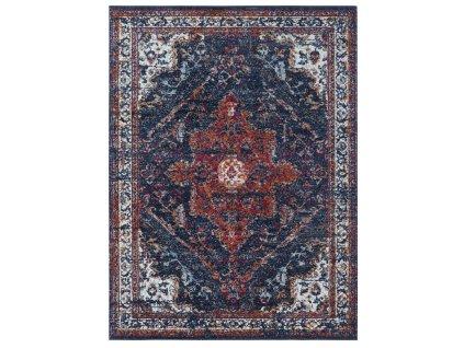 Nouristan - Hanse Home koberce AKCE: 80x150 cm Kusový koberec Lugar 104091 Midnight Blue - 80x150 cm