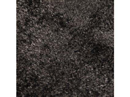 Flair Rugs koberce Kusový koberec Velvet Charcoal - 80x150 cm