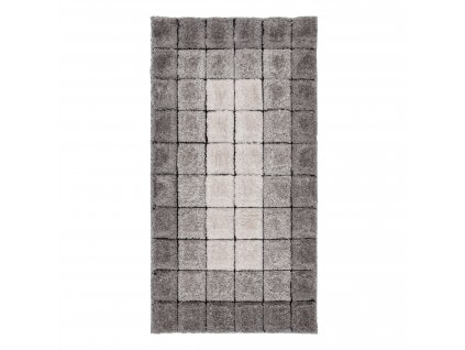 Flair Rugs koberce Kusový koberec Velvet-3D Cube Natural - 80x150 cm