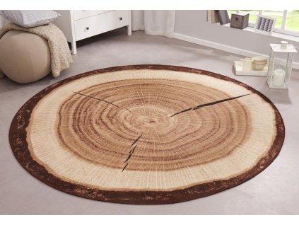 Hanse Home Collection koberce Protiskluzový kusový koberec BASTIA SPECIAL 101175 - 100x100 (průměr) kruh cm