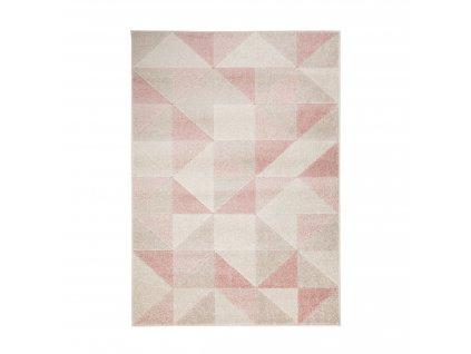 Flair Rugs koberce Kusový koberec Urban Triangle Blush/Pink - 100x150 cm