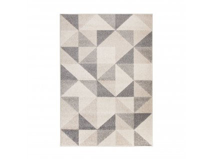 Flair Rugs koberce Kusový koberec Urban Triangle Grey - 100x150 cm