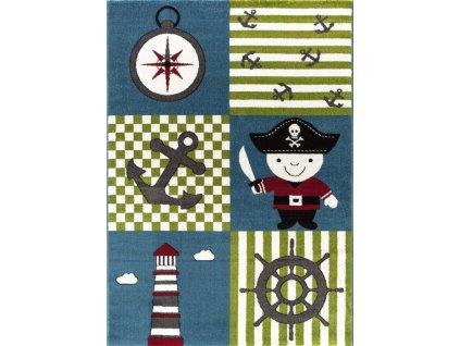 Ayyildiz koberce AKCE: 160x230 cm Kusový koberec Kids 450 multi - 160x230 cm