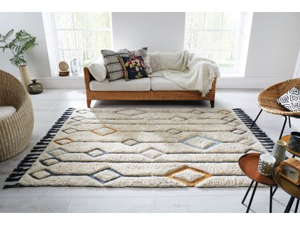 Flair Rugs koberce Kusový ručně tkaný koberec Solitaire Beau Multi - 200x290 cm