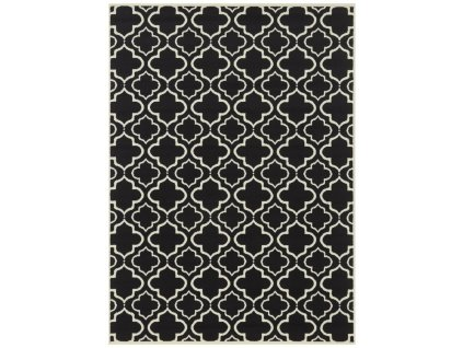Mujkoberec Original AKCE: 80x250 cm Kusový koberec Mujkoberec Original 104299 Cream/Black - 80x250 cm