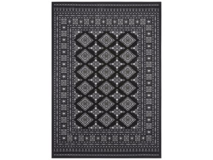 Nouristan - Hanse Home koberce AKCE: 200x290 cm Kusový koberec Mirkan 104109 Black - 200x290 cm
