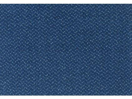 Metrážový koberec Optima Essential 720 modrá - Rozměr na míru bez obšití cm