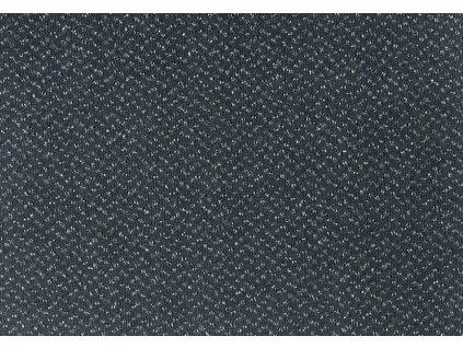 Metrážový koberec Optima Essential 820 černo-šedá - Rozměr na míru bez obšití cm