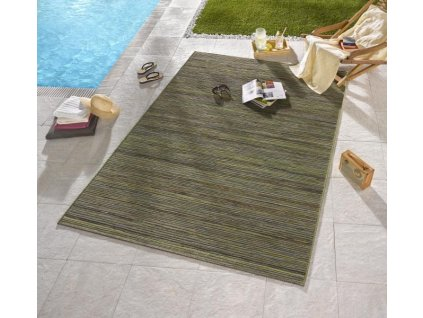 Bougari - Hanse Home koberce Venkovní kusový koberec Lotus Grün Meliert - 80x240 cm