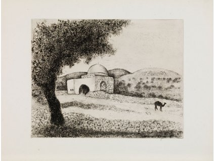 La tombe de Rachel Chagall