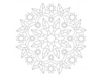 Šablona Mandala 0528