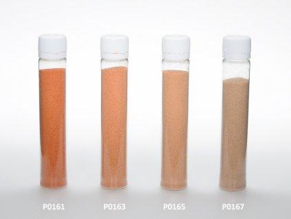 Barevný písek - lososová barva