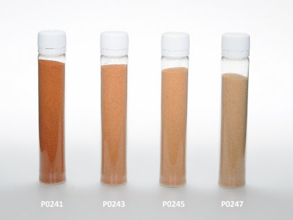 Barevný písek - cihlová barva
