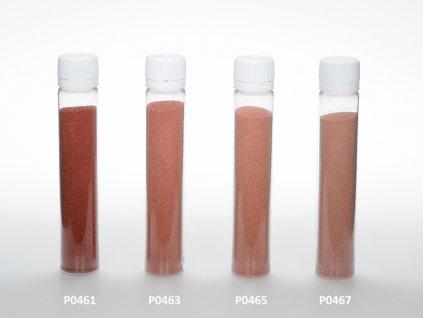 Barevný písek - červenohnědá barva