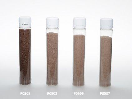 Barevný písek - čokoládová barva