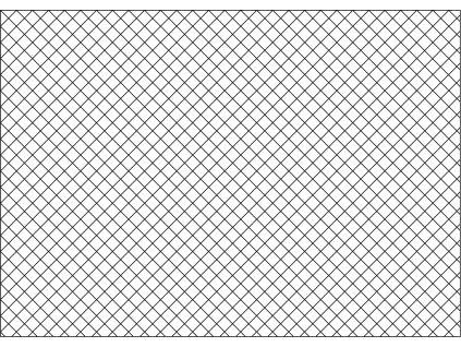 Šablona Rastr - kosočtverec