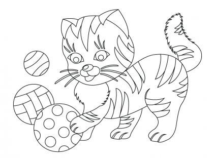 Šablona Kočička