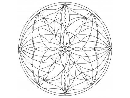 Šablona Mandala 0112