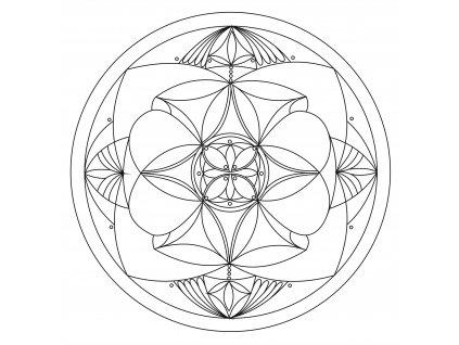 Šablona Mandala 0111