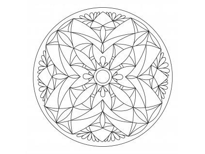 Šablona Mandala 0110