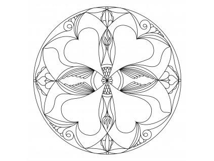 Šablona Mandala 0106