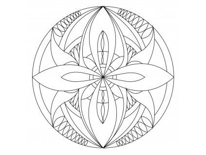 Šablona Mandala 0105