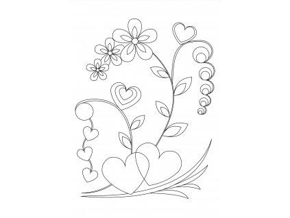Šablona Z lásky