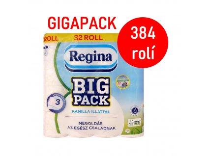 Regina (Madarsko) REGINA GIGAPACK 12x32 KAMILLA Toaletní papír třívrstvý 384rolí